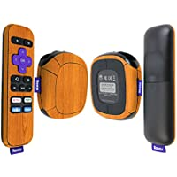 Skinomi TechSkin - Roku SE Light Wood Full Body Skin / Front & Back Wrap Clear Film / Ultra HD and Anti-Bubble Invisible Shield