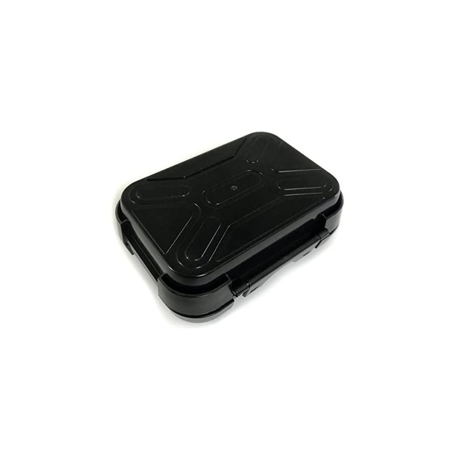 Monster Magnetics MiniMag Plus Larger Sized Magnetic Stash Box All Weather Hide A Key, Locker Box, Magnet Mount Geocaching Container, Under Car GPS Tracker Holder Easily Hide Your Stuff Anywhere!