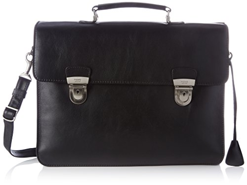 wxhxl Tuscan Picard Cm Mens 10x31x41 Black Black black Handbag black rrfqWn4