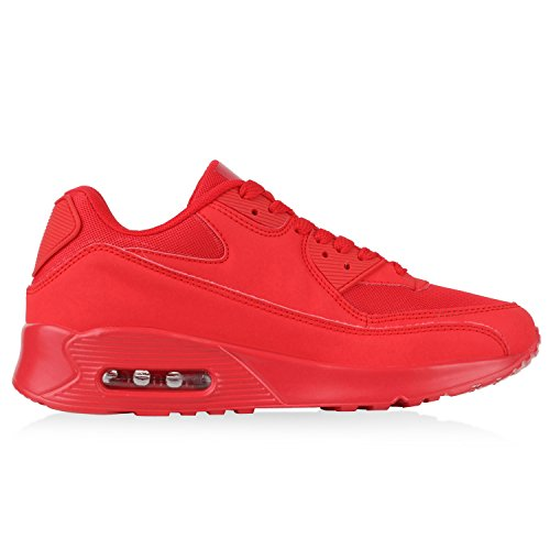 diansen® running Flyknit Boost inspirado entrenador Fitness gimnasio deportes zapatos (tamaño 6–11) Rojo Red