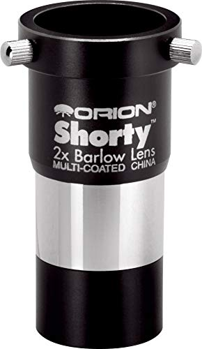 Orion 08711 Shorty 1.25-Inch 2x Barlow Lens (Black) (Shorty Orion)