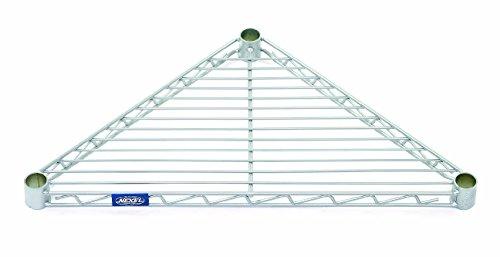 Nexel ST24C Triangle Shelf, Wire, 24