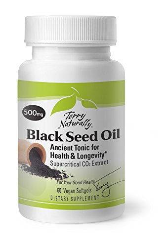 (Terry Naturally Black Seed Oil - 60 Vegan Softgels)