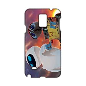 Angl 3D Case Cover Cartoon Evan and WAL Phone Case for Samsung Galaxy Note4