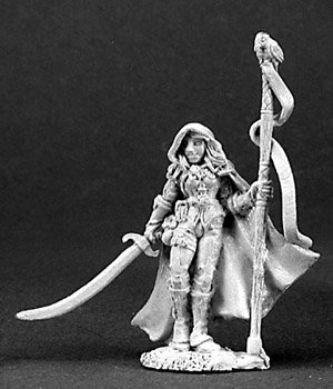 Dark Heaven Maralise Moonscythe Female Druid RPR 03094