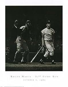 Roger Maris, 61St Home Run - Poster by Herb Scharfman (24 x 30)