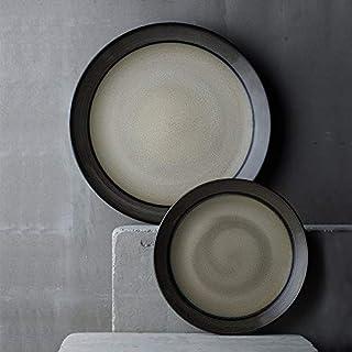 Yetta KITCHEN Plato de cerámica creativa, plato, plato, plato, filete, plato, plato, fruta, plato de postre (Size : Small)