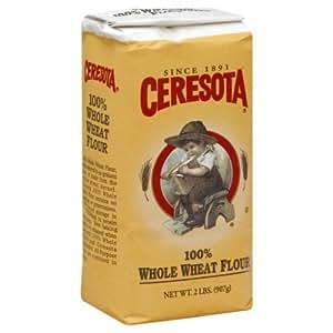 Amazon.com : Ceresota Flour Whole Wheat, 2-Pound (Pack of