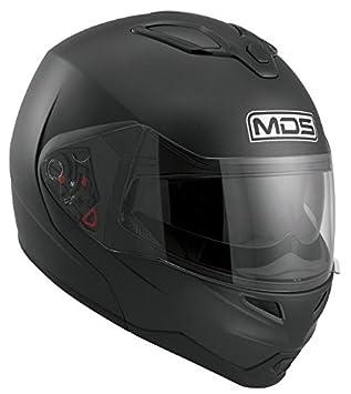 AGV - Casco de moto - mds md200 negro mate-m