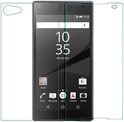 Mchoice Front+Back Tempered Glass Film Screen Protector for Sony Xperia Z5 Compact