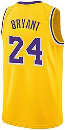 Camiseta de Baloncesto Retro Kobe Bryant # 24 Los Angeles Lakers ...