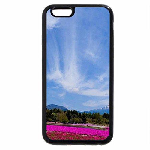 iPhone 6S Case, iPhone 6 Case (Black & White) - Fuji-san