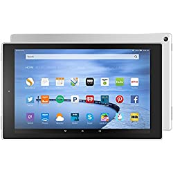 """Certified Refurbished Fire HD 10 Tablet, 10.1"""" HD Display, Wi-Fi, 32 GB - Includes Special Offers, White (Previous Generation - 5th)"""