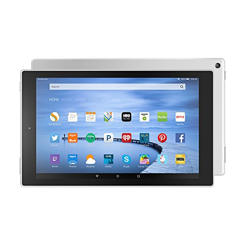 Certified Refurbished Fire HD 10 Tablet, 10.1″ HD Display, Wi-Fi, 32 GB – Includes Special Offers, White (Previous Generation – 5th)