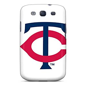 Scratch Protection Hard Phone Cases For Samsung Galaxy S3 With Custom Lifelike Minnesota Twins Pattern SherriFakhry