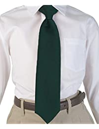 Cookie's Brand Clip-on Tie - green, 14""
