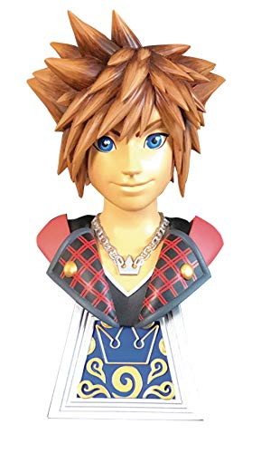 DIAMOND SELECT TOYS Legends in 3-Dimensions: Kingdom Hearts 3: Sora 1:2 Scale Resin Bust