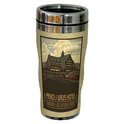 - Tree-Free Greetings sg23370 Nostalgic Waterton Lakes Park Prince of Wales Hotel by Paul A. Lanquist Stainless Steel Sip 'N Go Tumbler, 16-Ounce