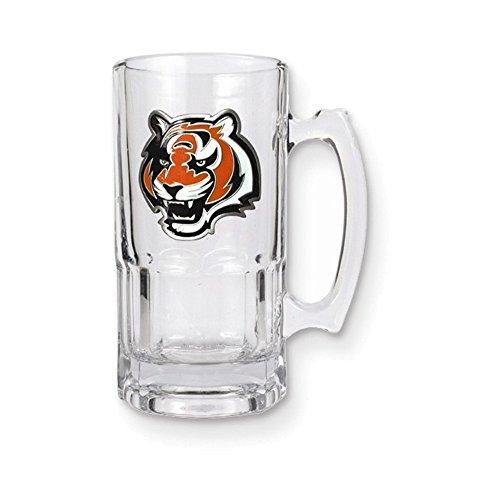 NFL Bengals 1-liter Glass Macho Tankard