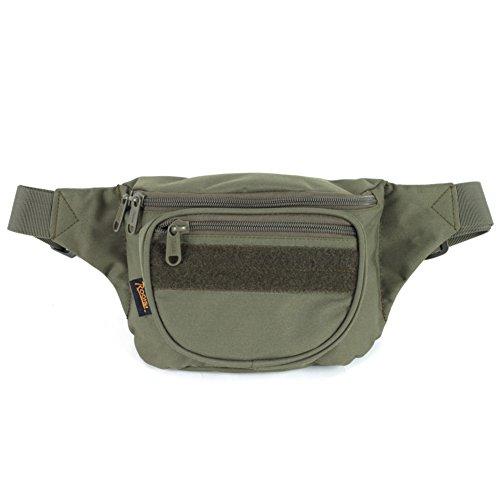 Bolsillos de utilidad ligero deporte camping/Paquete táctico de ejército ventilador-Camuflaje 1 3L verde del ejército