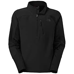 The North Face Sabertooth 1/2-Zip Top - Long-Sleeve - Men's TNF Black/TNF Black, M