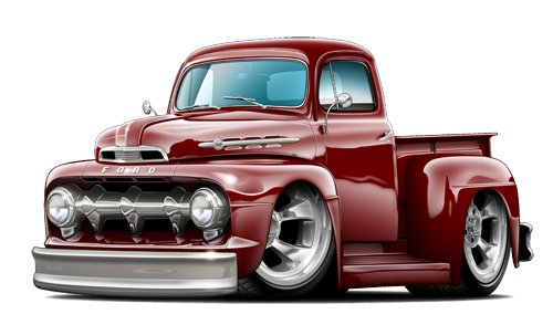 Greaser Hotrod Wall Decal Truck Vehicle Window Decor Laptop 3M Sticker LO15