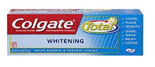Colgate Total Whitening Toothpaste (1 Tube) (Tube Whitening)