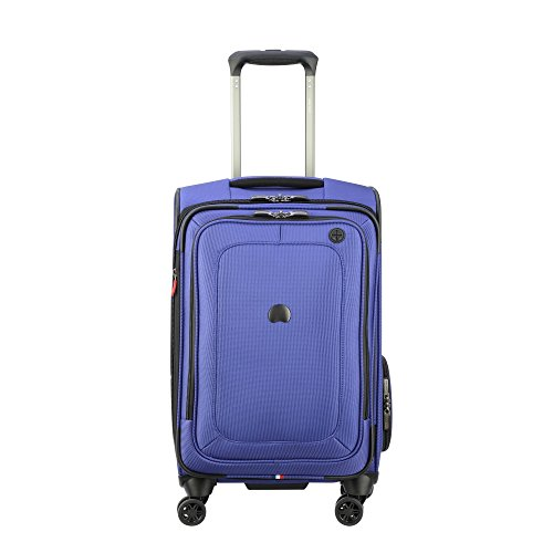 Delsey Luggage Cruise Lite Softside Carry-on Exp. Spinner Suiter Trolley, Blue by DELSEY Paris