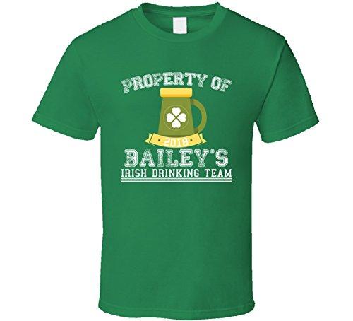 Tshirtshark Property Of Bailey's Irish Drinking Team ST Patricks Day Beer T Shirt M Irish (Bailey Mens Clothing)