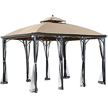 Garden Winds Replacement Canopy For The Big Lots Somerset Gazebo