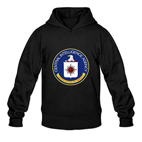 Price comparison product image P-Jack Men's Middle Intelligence Athletic Hoodie Sweatshirt SizeL ColorBlack