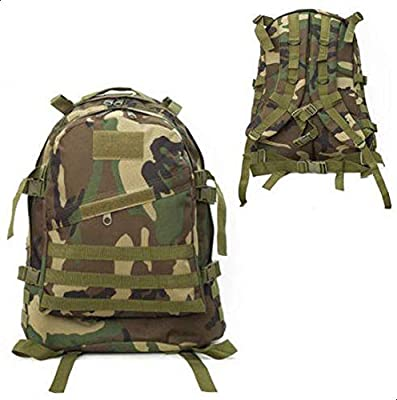 3D Tactical Outdoor Military Rucksack Backpack Bag Camping Hiking Camo 40L