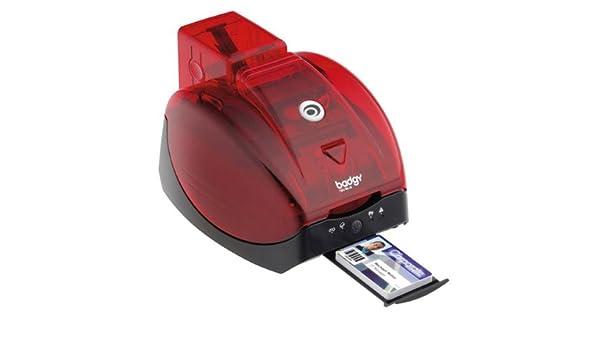 BADGY Impresora color de tarjetas PVC Badgy + GARANTÍA 3 AÑOS ...