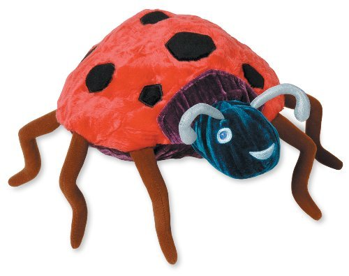 The World of Eric Carle Very Grouchy Ladybug Bean Bag Toy by Kids Preferred Model: 96215, Toys & Games for Kids & Child