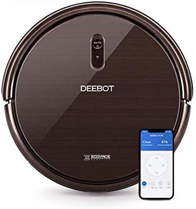 ECOVACS DEEBOT N79S – Aspirateur robot pour sols durs, tapis et moquettes minces – Aspirateur sans fil programmable via smartphone et compatible avec Amazon Alexa - Home Robots
