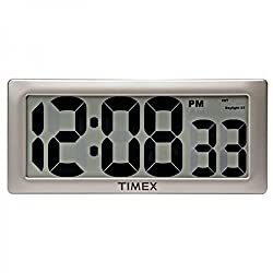 Timex Intelli-Time Digital Wall Clock 13.5 Extra Large LCD Display New in Original Box