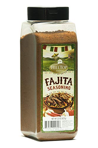 Hilltop Foods Ground Fajita Seasoning-Dried Spices 22 OZ Container ()