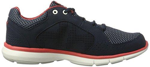 Helly Hansen Donna W Ahiga V3 Idropotente Fashion Sneaker Blu / Bianco Sporco / Cayenne