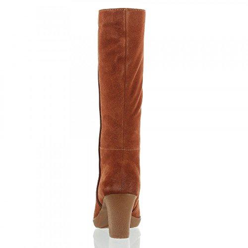 CAPRICE botas/botines marrón - marrón