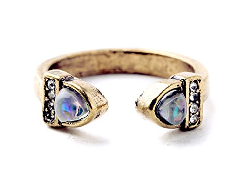 Ring Crystal Deco (LilahV Crystal pave opal deco ring)