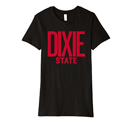 - Womens Dixie State Trailblazers T-Shirt 80M-DS Small Black