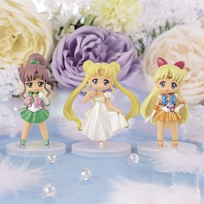Sailor Moon Crystal collected figures for Girls 2 all three sets