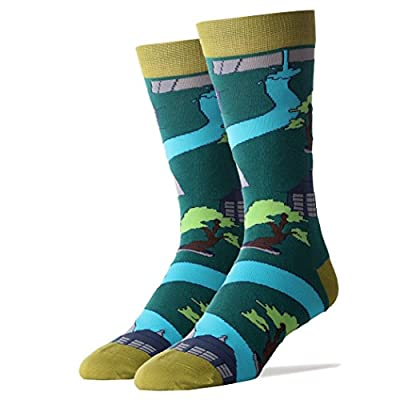 Cheap Oooh Yeah Socks ! Mens Crew Bonsai