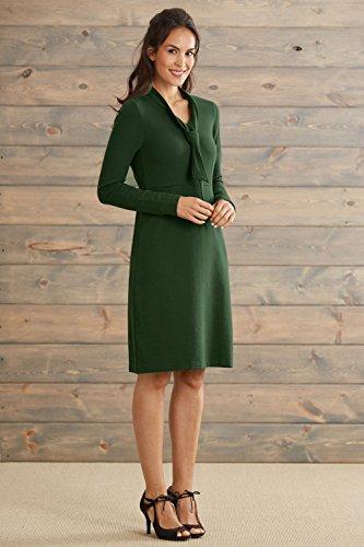 63af1e1cafd Fair Indigo Fair Trade Organic Tie Dress