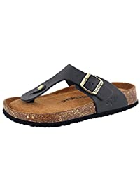 SoftMoc Women's Angy 5 Cork Footbed Thong Sandal