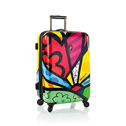 Romero Britto Luggage 22'' a New Day Spinner Wheels Carry-on by Heys (Image #6)