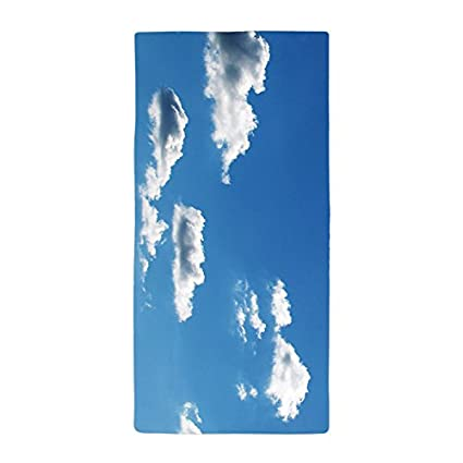 "jesspad toalla de baño toallas de nube azul cielo verano playa piscina de 28 """