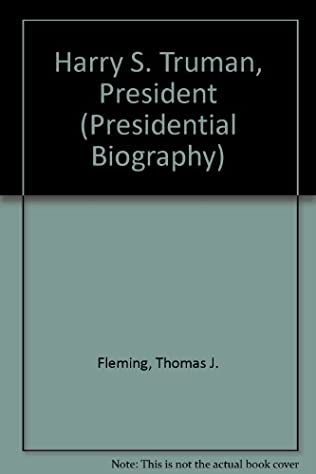 book cover of Harry S. Truman, President