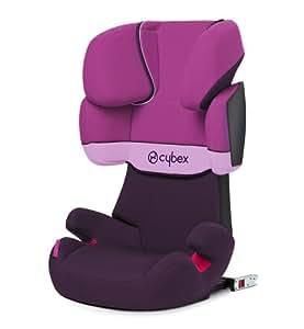 Cybex Solution X-Fix - Silla de coche, grupo 2/3 (15-36 kg, de 3 a 12 años aproximadamente), con Isofix, color Purple rain
