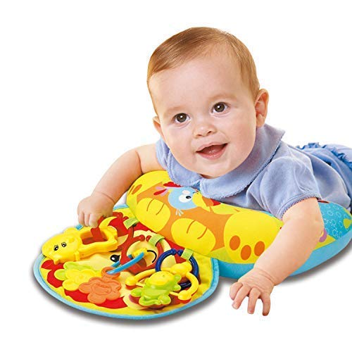 Baby Mat – Tummy Time Toys – Wedge Pillow – Infant Toys – Baby Play Mat – Baby Floor Mat – Activity Gym – Unisex